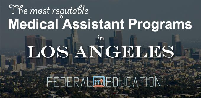 medical assistant programs in los angeles LA